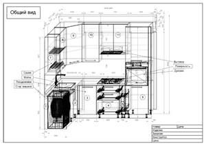 Услуга деталировки мебели